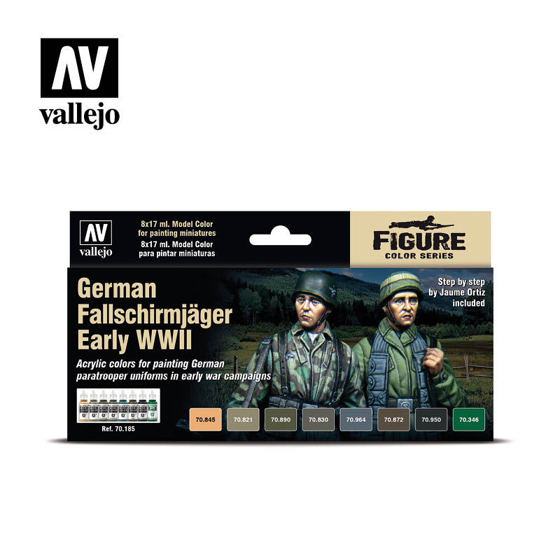 70185 German Fallschirmjager Early WWII Set - Image 1