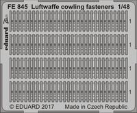 Luftwaffe cowling fasteners