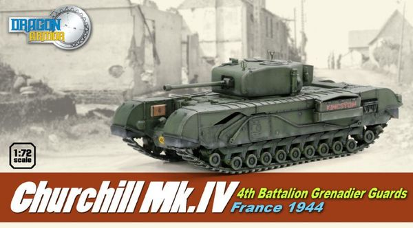 Churchill Mk.IV, 4th Battalion Grenadier Guards, France 1944 - Image 1