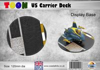 Toon US Carrier Deck 120mm