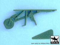 Focke-Wulf FW 190 D-9 tail wheel for Hasegawa kits, 7 resin parts