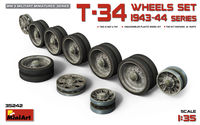 T-34  WHEELS  SET. 1943-44 SERIES - Image 1