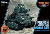 World-War Toons French Medium Tank Somua S35