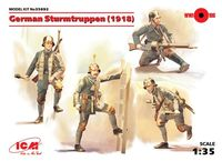 German Sturmtruppen (1918) (4 figures) (100% new molds)