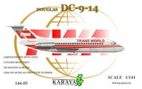 Douglas DC-9-14 Trans World Airlines