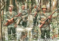US Marines in jungle (1941-1945)