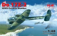 Do 17Z-2, WWII German Bomber (100% new molds)