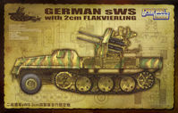 German SWS with 2cm Flakvierling - Image 1