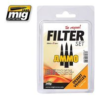 A.MIG 7451 Filter Set for Desert Vehicles