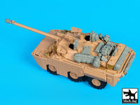 AMX 10 RCR Separ accessories set for Tiger-Model