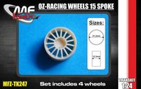 OZ-Racing wheels 15 spoke 4 screw