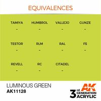 AK 11128 Luminous Green
