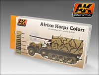 AK 550 Afrika Korps colors Set