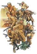 WWII Russian Infantry and Tank Crew Set