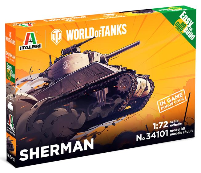 SHERMAN - WoT Easy to Build - Image 1
