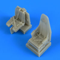 Mosquito seats with safety belts seat TAMIYA - Image 1