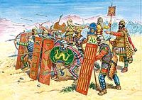 Persian infantry (Immortals) V-IV BC