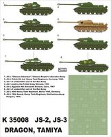 IS-2/IS-3 Tamiya,Dragon