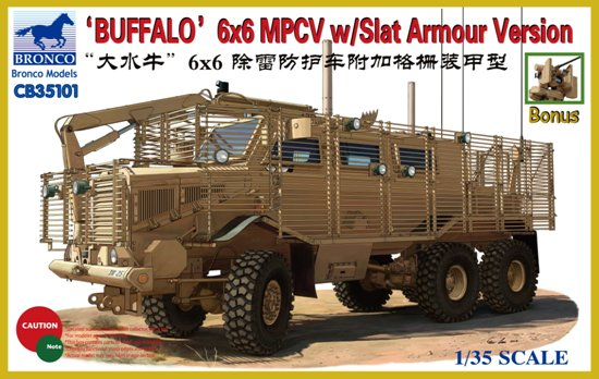 """Buffalo"" 6x6 MPCV with Slat Grill Armor Version - Image 1"