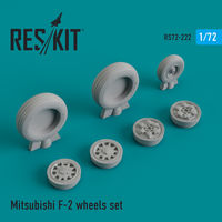 Mitsubishi F-2 wheels set