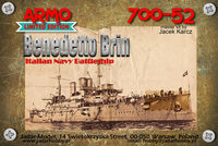Benedetto Brin Italian pre-dreadnought Navy Battleship