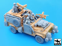Defender Wolf accessories set with crew for Hobby Boss - Image 1