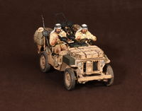 Crew of the Jeep SAS. North Africa.1941-42 #3 2 figures - Image 1