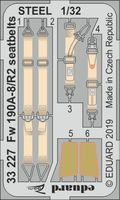 Fw 190A-8/R2 seatbelts STEEL REVELL - Image 1