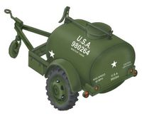 WWII US Water Tank Trailer Ben Hur