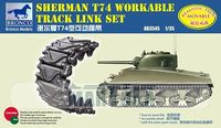 Sherman T74 Workable Track Link Set - Image 1