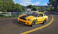 2013 Ford Mustang Boss - Model Set