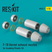 F-18 Hornet exhaust nozzles for Academy/Kinetic Kit