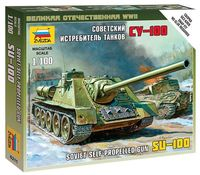 Self-Propeled Gun Su-100