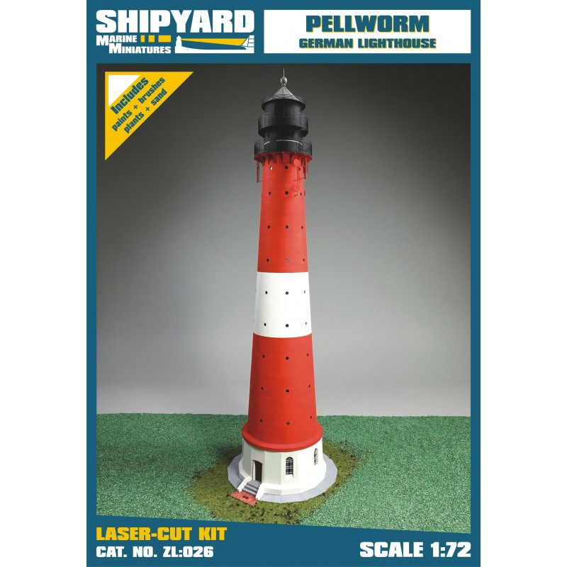 Pellworm Lighthouse skala 1:72 - Image 1