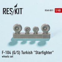 "Lockheed F-104 (G/S) Turkish ""Starfighter"" wheels set - Image 1"