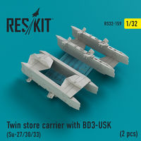 Twin store carrier with BD3-USK (Su-27/30/33) (2 pcs)