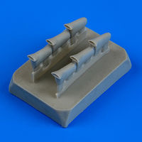Defiant Mk.I exhaust - fishtail exhaust AIRFIX - Image 1