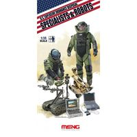 Explosive Ordnance Disposal Specialists & Robots