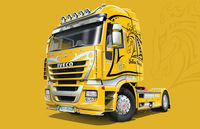 "IVECO STRALIS ""YELLOW DEVIL"""