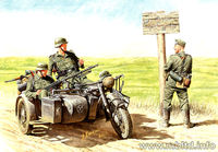 German motorcyclists, 1940-1943 - Image 1