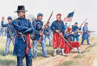 Union Infantry and Zuaves