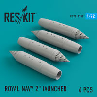 "ROYAL NAVY 2"" lAUNCHER  (4 pcs) Phantom, Harrier, Sea Vixen, Buccaneer"