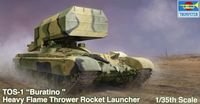 Russian TOS-1 Multiple Rocket Launcher Mod. 1989