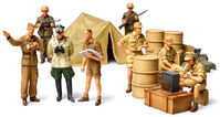 WWII GERMAN AFRICA CORPS INFANTRY SET