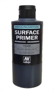 74660 Surface Primer Gloss Black - Image 1