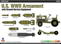 U.S. WWII Armament with Ground Service Equipment