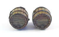 Wooden Barrels (2 pcs.) - Image 1