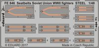 Seatbelts Soviet Union WW2 fighters STEEL