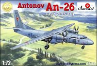 Antonov AN-26 Late Version Russian Military Cargo Plane