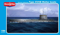 U-boat type XVIIB Walter engine German WWII submarine